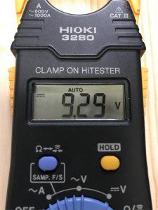 ボスのアダプターの電圧